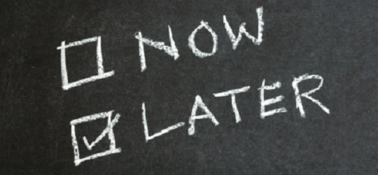 Is your practice suffering from 'business procrastination'?