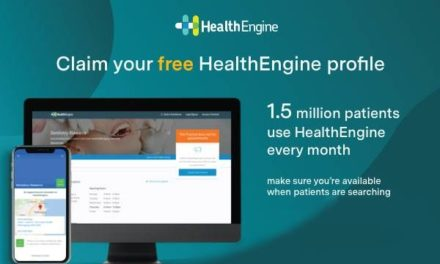 Claim your free HealthEngine profile