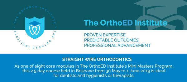 The OrthoED Institute's Mini Masters Program – Module 2