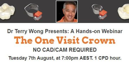 Dr Terry Wong presents: The One Visit Crown