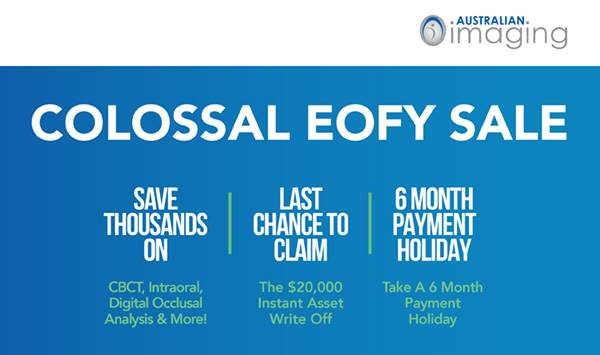Colossal EOFY Sale – The Dental Review