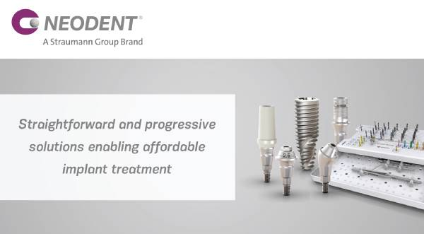 Straightforward and progressive solutions enabling affordable implant treatment – Neodent