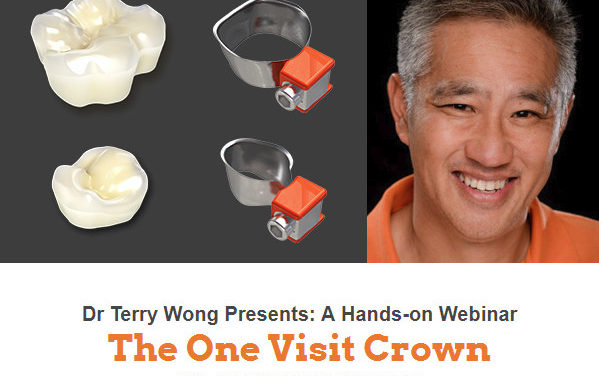 The One Visit Crown webinar by Dr Wong