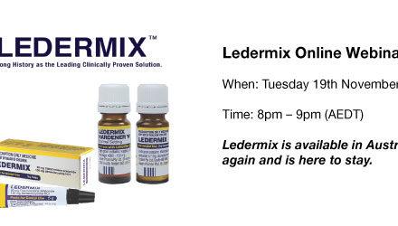 The Ledermix Materials – Fact or Fiction?