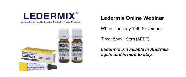 The Ledermix Materials – Fact or Fiction?