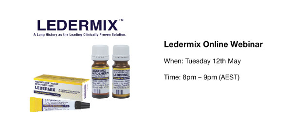 Ledermix – A Long History as the Leading Clinically proven Solution