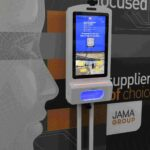 Contact tracing, visitor management, temperature measurement, sanitation and digital signage all in one simple solution